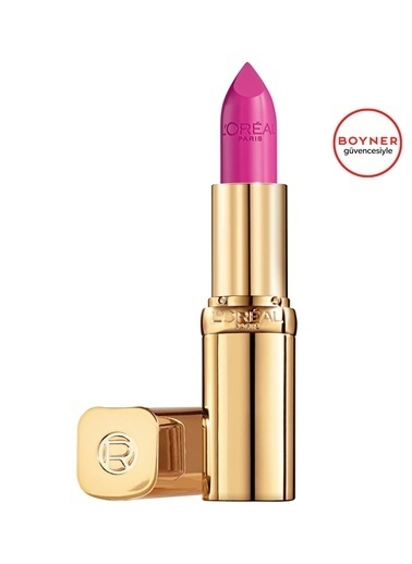 L'Oréal Paris Color Riche 112 Numaralı Koyu Saten Bitişli Ruj Pembe